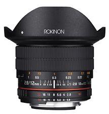Rokinon 12mm F2.8 Ultra Wide Fisheye Lens for Nikon DSLR Cameras - Full Frame...