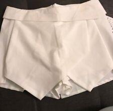 Zara Basic White Skort Size Small