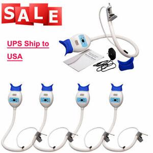5 X Dental Teeth Whitening Bleaching Accelerator LED light lamp w/ Arm Holder RD