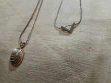 Very Delicate Necklaces Lot Of 2