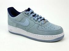 UNISEX NIKE AIR FORCE 1 LOW BLUE SUEDE CLASSIC LACE TRAINERS SIZE 5 & 6 ODD PAIR