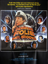 Affiche 120x160cm LA DERNIERE FOLIE DE MEL BROOKS /SILENT MOVIE 1976 Mel Brooks