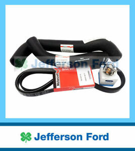 Genuine Ford  Territory Sx Sy Cooling Kit Hoses, Thermostat, Drive Belt