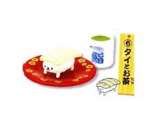Sushi-nyan Sushi Cat Tai Snapper w/Tea Capsule Toy 4cm 4905040612830 US Seller
