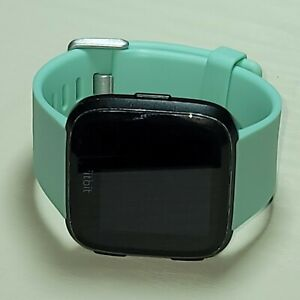 Fitbit Versa Fitness Smartwatch - Black small size bands