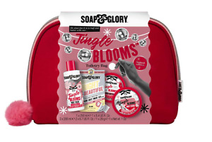 Soap & Glory Jingle blooms Toiletry Bag 100% authentic, PERFECT XMAS GIFT