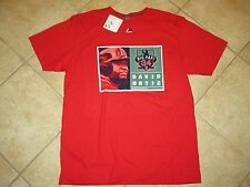 BOSTON RED SOX (DAVID ORTIZ) PLAYERS IMAGE TEE (XL) BY MAJESTIC NWT $30 RED COOL
