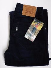 Vintage Levis 752 Jeans De Pana Nuevo Con Etiquetas Mujeres bengalas W27 L32 Azul Marino levh 511 #