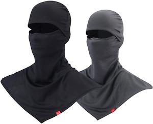 pasamontañas para calor sol verano mascara cuello largo transpirable para hombre