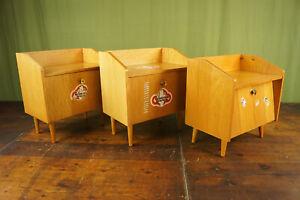 60er Vintage Mini Sideboard Bedside Cabinet Console Retro Danish Table 3