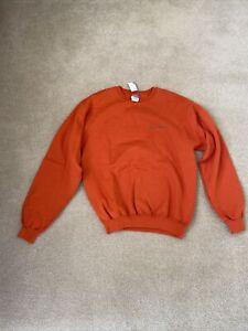 New Men's Champion Sweatshirt Size M Orange
