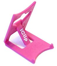 iPad Mini Kindle Touch DX 7 8 9 Fire Holder iClip Folding Travel Stand Pink Small Mobile PHONES iPhones Smartphones iPods