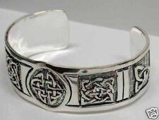 Silver Plate ~25% off~ Celtic Bracelet , Heavy weight