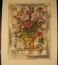 """Original Limited  Mixed Media by Jennifer Hollack """"Checkered Beauties"""""""