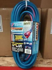 50' All Weather Red Blue Extension Cord Extreme 16Ga 97050