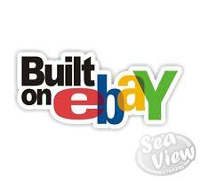 Built on Ebay Car Van Sticker Decal Funny Stickers JDM Euro VW Dub