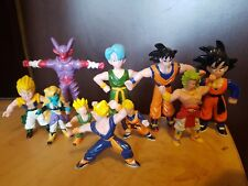 Collection of 1989 Small Dragonball Z Figures