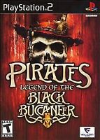 Pirates: Legend of the Black Buccaneer (Sony PlayStation 2 PS2) No Manual