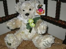 Metro Thirsk UK Daisy Bear 4th Limited Edition 2002 Beige Plush Bear 13 Inch