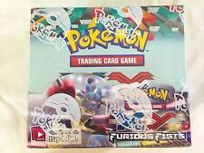 POKEMON CCG XY FURIOUS FISTS factory sealed Booster Box!  36 packs