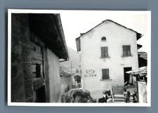 Suisse, Vers Le Forclaz  Vintage silver print.  Tirage argentique d'époqu