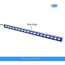 54W led aquarium light strip bar blue spectrum fish tank reef coral growth light
