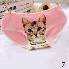 señoras atractivas de las bragas la mujer gato impresión 3D lindo vaciada anti