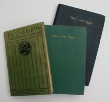 Nests and Eggs - Nelson 1940s + British Birds (3 books)