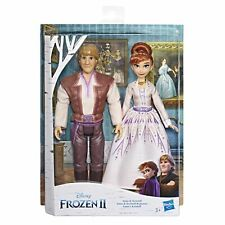 Disney's Frozen 2 - Anna and Kristoff Romance Twin Doll Pack
