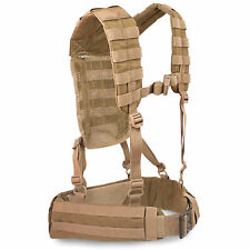 Bulldog MK2 Military Army Cadet MOLLE Airborne Webbing Belt Yoke Set Coyote Tan