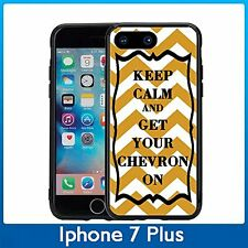 Orange Keep Calm and Get Your For Iphone 7 Plus & Iphone 8 Plus (5.5) Case