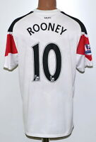 MANCHESTER UNITED 2010/2011 AWAY FOOTBALL SHIRT #10 ROONEY NIKE SIZE L ADULT