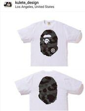 BAPE Color Camo Big Ape Head Tee White/Black 3XL A Bathing Ape Authentic