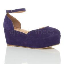 Calzado de mujer zapatos de salón de tacón medio (2,5-7,5 cm) de color principal azul