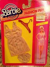 Vintage Barbie Doll Clothing Fashion Fun Lacy Lingerie Underwear #4807 1983 NRFB