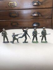 5 Vintage Lead Soldiers