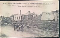 Postcard WW1 Neuville Vaast After bombardment  unposted