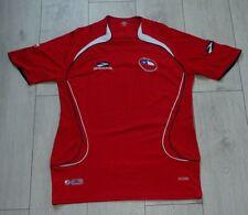 "Chile 2007-2009 ""M"" Brooks Home Shirt Jersey Trikot Camiseta"