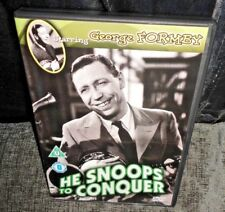 He Snoops To Conquer (DVD, 1944) George Formby FAST & FREE