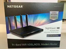 Netgear R8500-100AUS Nighthawk X8 AC5300 Tri-Band WiFi Router