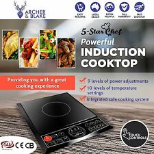 Electric Induction Cooktop Portable Kitchen Cooker Ceramic Cook Top NEW