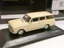 MINICHAMPS 1/43 - FORD TAUNUS 12 M TURNIER 1962 - 400086111