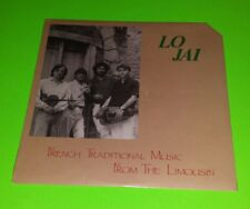 Lo Jai - French Traditional Music From the Limousin - Rare 1986 LP New Free Ship