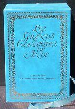 Les grands classiques de l'Inde 3 vol Bhagavad Gita NM