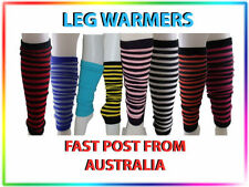 Unbranded Striped Leg Warmers for Women