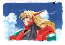 Voltage Fighter Gowcaizer Anime Production Cel Douga Isato Kaiza 1996 Neo Geo