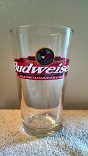 Budweiser 16 oz Glass Libbey Brand Beer Glass Barware