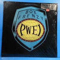 POP WILL EAT ITSELF BOX FRENZY LP 1987 ORIGINAL SHRINK NICE CONDITION! VG/VG++!!