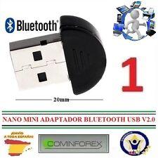 Mini Nano adaptador Bluetooth USB v2.0 Dongle Windows Xp/vista/7/8/10 Cominforex