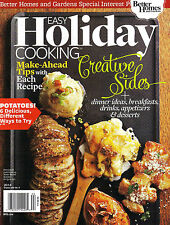Better Homes & Gardens: Easy Holiday Cooking 2014 Magazine NEW - FREE SHIP!!